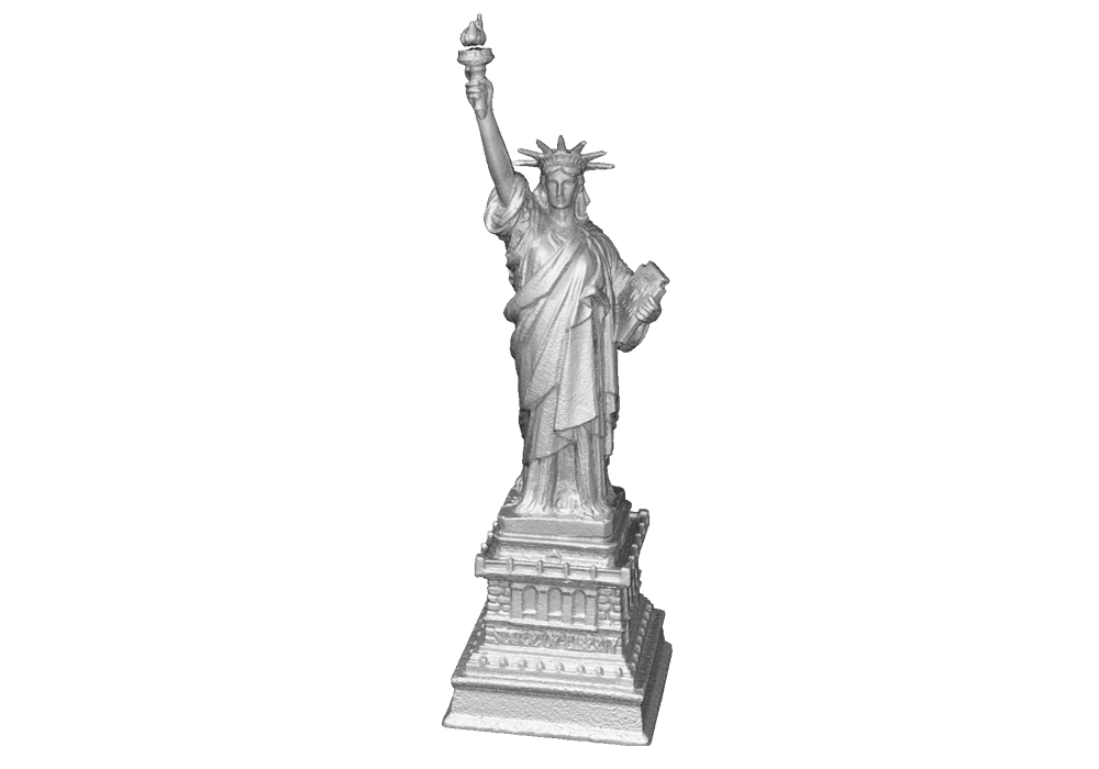 Statue of Liberty scan